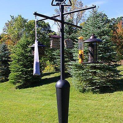 feeder pole