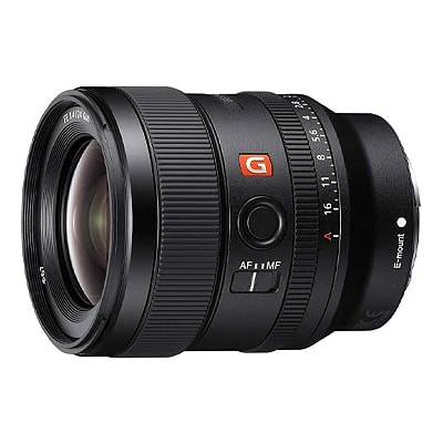 camera lens on a white background