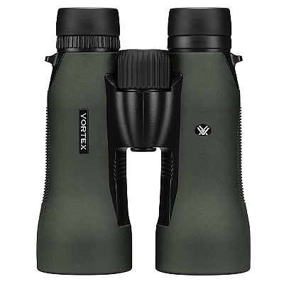 green binoculars