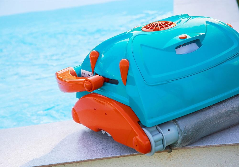 pool cleaning machine