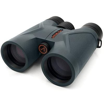binoculars on a white background