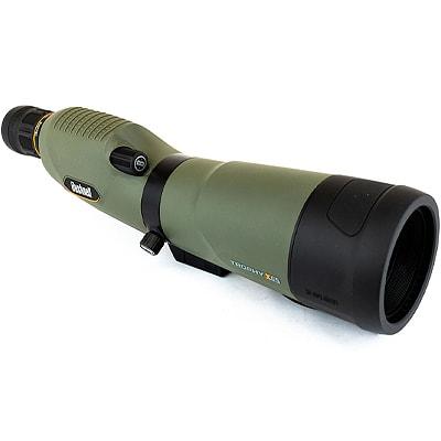 spotting scope on a white background