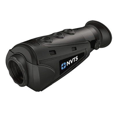 thermal monocular on a white background