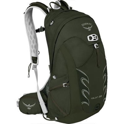 backpack on a white background